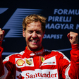 Second win for Vettel at the Hungarian GP
