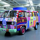 VW Museum Adds Knitted VW Transporter to Collection