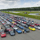 World's Largest Group of Mazda's Ever Meet in the Netherlands