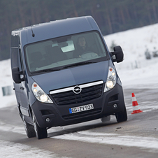 Opel Movano Chassis Cab L4H1 3.5T RWD HD (DRW)