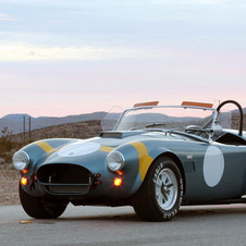 The 50th Anniversary FIA 289 Cobra gets an added stripe, new wheels and a new badge