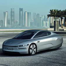 The XL1 is due for next year, and the concept used just 0.9l/100km