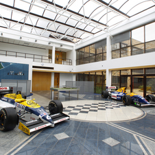 Attendees will be able to view Williams' collection of race cars.