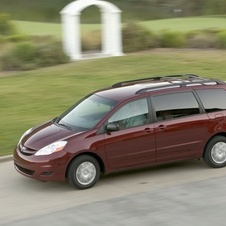 Toyota Sienna CE FWD with 8 Passenger Seating