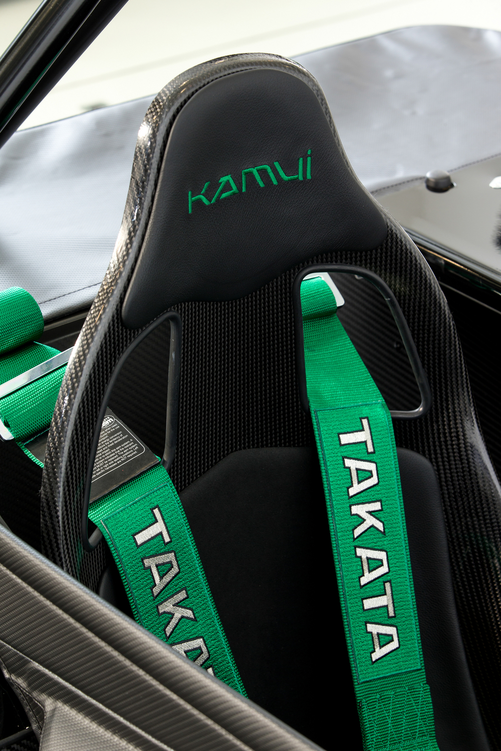 Detail from the special edition sport seat