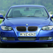 BMW 320d xDrive Coupe (E92)