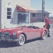 MG MGA Twin Cam