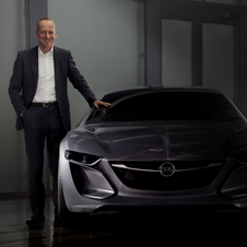The new car shows the future of Opel design
