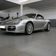 Porsche Cayman S pick up day