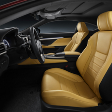 The interior is quite similar to the IS
