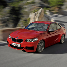 The M2 would use a twin-turbocharged version of the M235i's engine