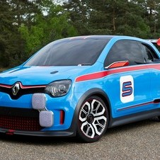 The Twin Run is inspired by the Renault 5 Turbo