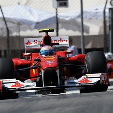 Ferrari off to a good start in Monaco