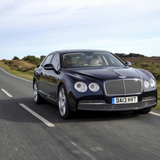 It launched the Continental Flying Spur and sold over 2,000 of them