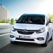 Opel Zafira 2.0 CDTI Innovation