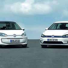 The e-Golf and e-Up are Volkswagen's entry into the electric vehicle market