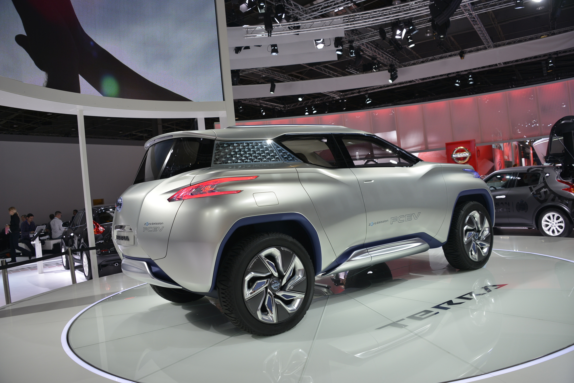 Updated Nissan Terra Suv Is An Off Road Fuel Cell Suv News