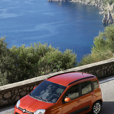 Fiat Panda Lounge Natural Power