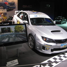 Subaru WRX Isle of Man Record
