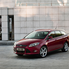Ford Focus Station 1.6 Ti-VCT Bi-Fuel Trend Easy