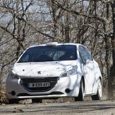Power comes from a 185hp version of Peugeot's 1.6 VTi engine