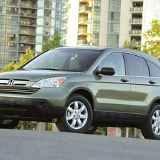 Honda CR-V EX 4WD 5-Spd AT