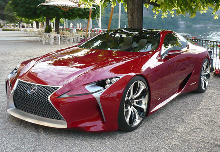 Lexus LF-LC Takes to the Road for the First Time (with ...