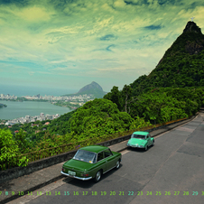 Audi Prepares Calendar Showing Classic Models Around the World