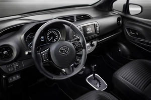 The new Toyota Yaris has seen an improvement in its interior quality