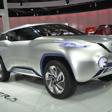 Nissan presented a new hydrogen fuel cell SUV concept called the TeRRA