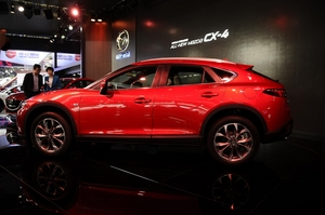 The CX-4 will be sold in China with two Skyactiv 2.0 litre and 2.5 litre petrol engines