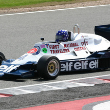 Tyrrell 008 Cosworth