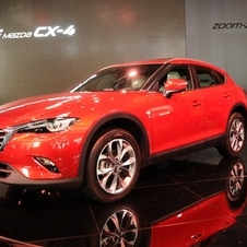 The CX-4 is being launched as an exclusive model for the Chinese market