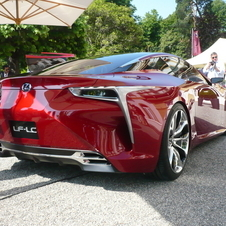 The rear also looks like the LFA slightly