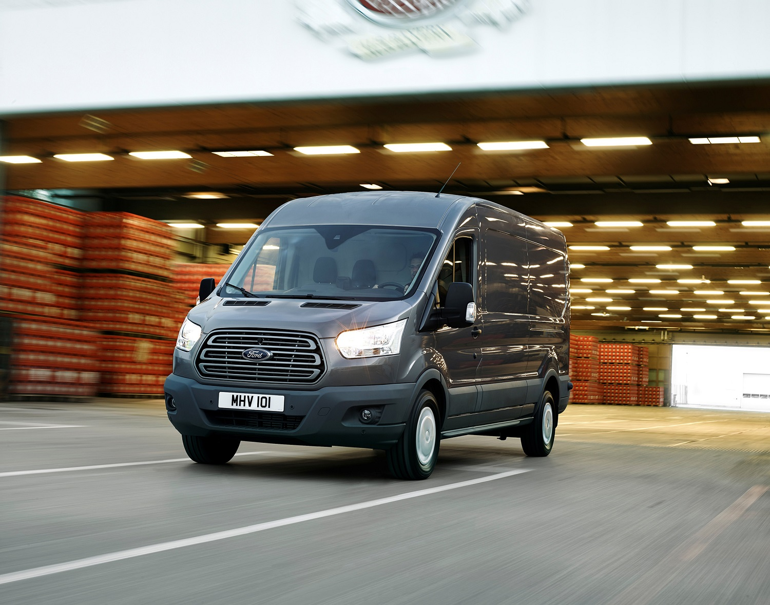 Ford Transit Chassis Cabina Simples Trend 350 L2 2.0 TDCi H1