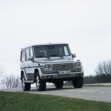 Mercedes-Benz G 500 Station
