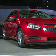 The Cruze diesel goes on sale in a few months in the US