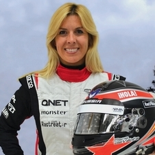 Her accident came during her first test for Marussia