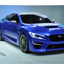 The WRX was first shown at this year's New York Auto Show