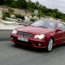 Mercedes-Benz CLK 220 CDI Automatic