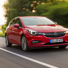 Opel Astra 1.0 Turbo Edition Easytronic
