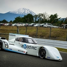 The ZEOD RC got its public track debut at the Fuji Speedway