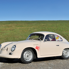 Porsche 356 A Carrera 1500 GT Coupé by Reutter