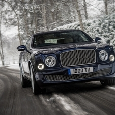 The Mulsanne is Bentley's top model