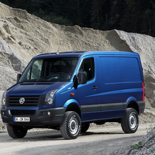Volkswagen Crafter 35 KLA 2.0 TDI BlueMotion partly glazed