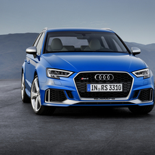 Audi RS3 Sportback is 33hp more powerful than its predecessor