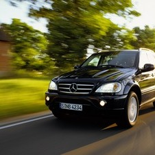 Mercedes-Benz ML 55 AMG