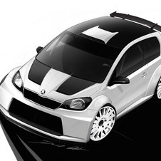 The Citigo Rally is meant to show an ultimate version a racing Citigo