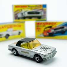 As the cars became more popular, more toys were made of them