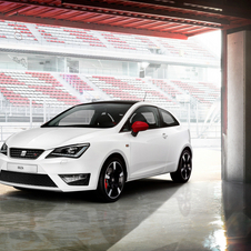 The white Ibiza shows the possibilities of Seat's accessories